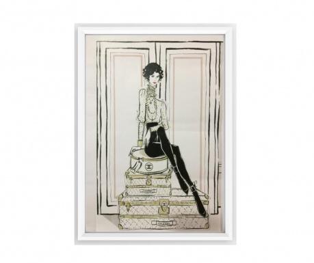 Chanel Suitcases Kép 23.5x33.5 cm