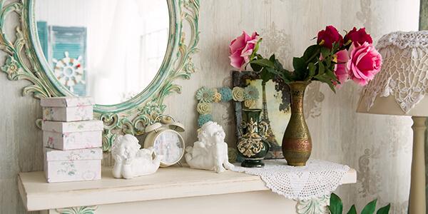 Romantické vintage podkrovie