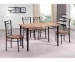 Комплект маса и 4 стола за екстериор Vera Multi