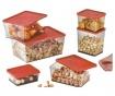 Set 3 cutii pentru depozitare Bon