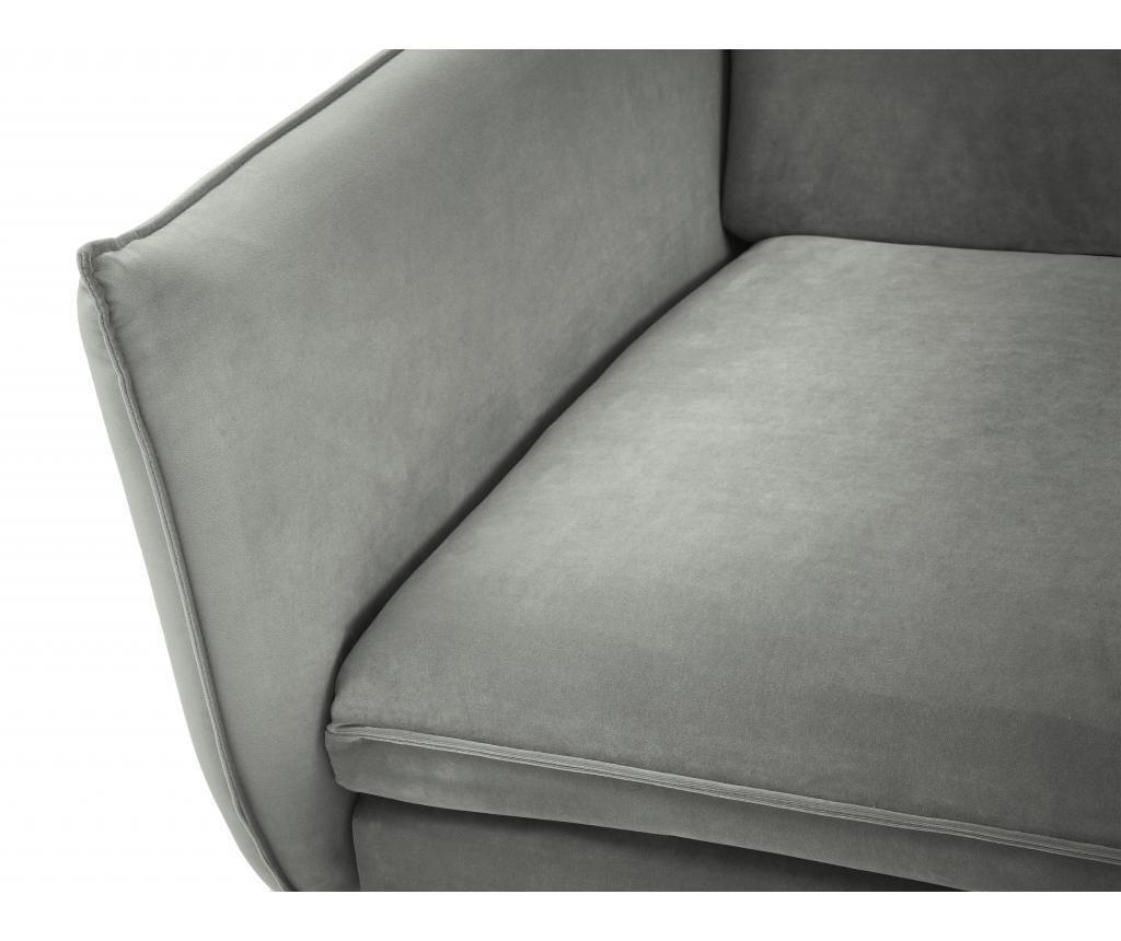 Sofa cu 2 locuri Biagio Light Grey