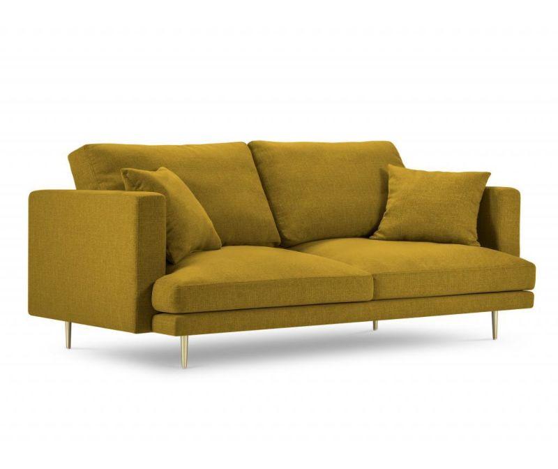 Sofa cu 3 locuri Flavio Yellow