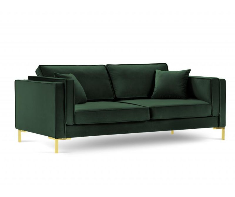 Sofa cu 4 locuri Giuseppe Bottle Green