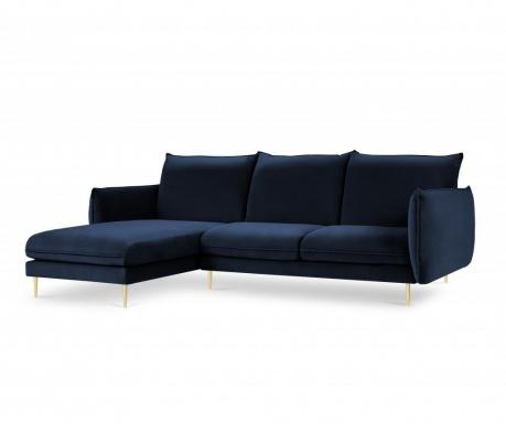 Leva kotna sedežna garnitura Biagio Royal Blue
