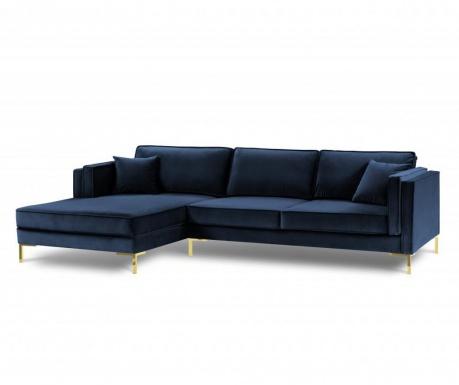 Leva kotna sedežna garnitura Giuseppe Royal Blue
