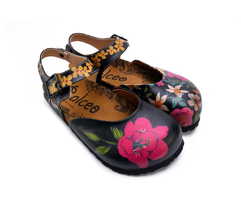 Pantofi dama Flowers 39 - Calceo, Multicolor