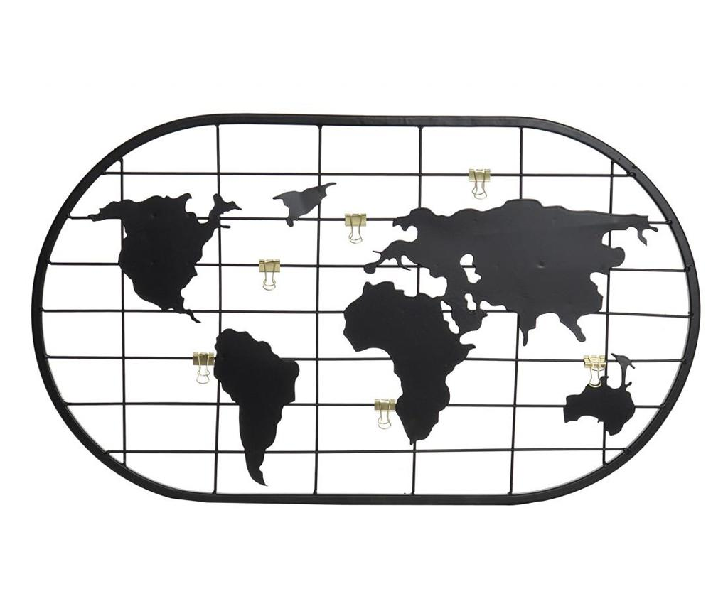 Decoratiune World Map - Item International