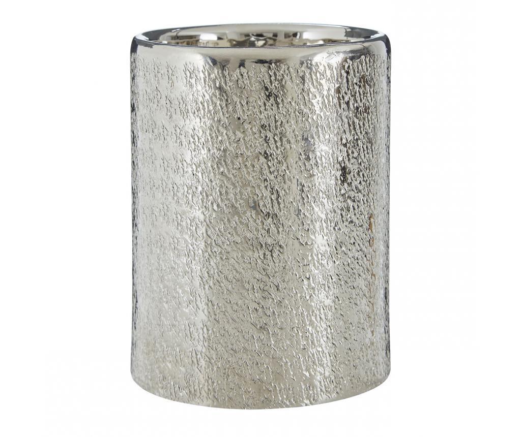 Suport pentru lumanare Safia Grey and Silver - Premier, Gri & Argintiu