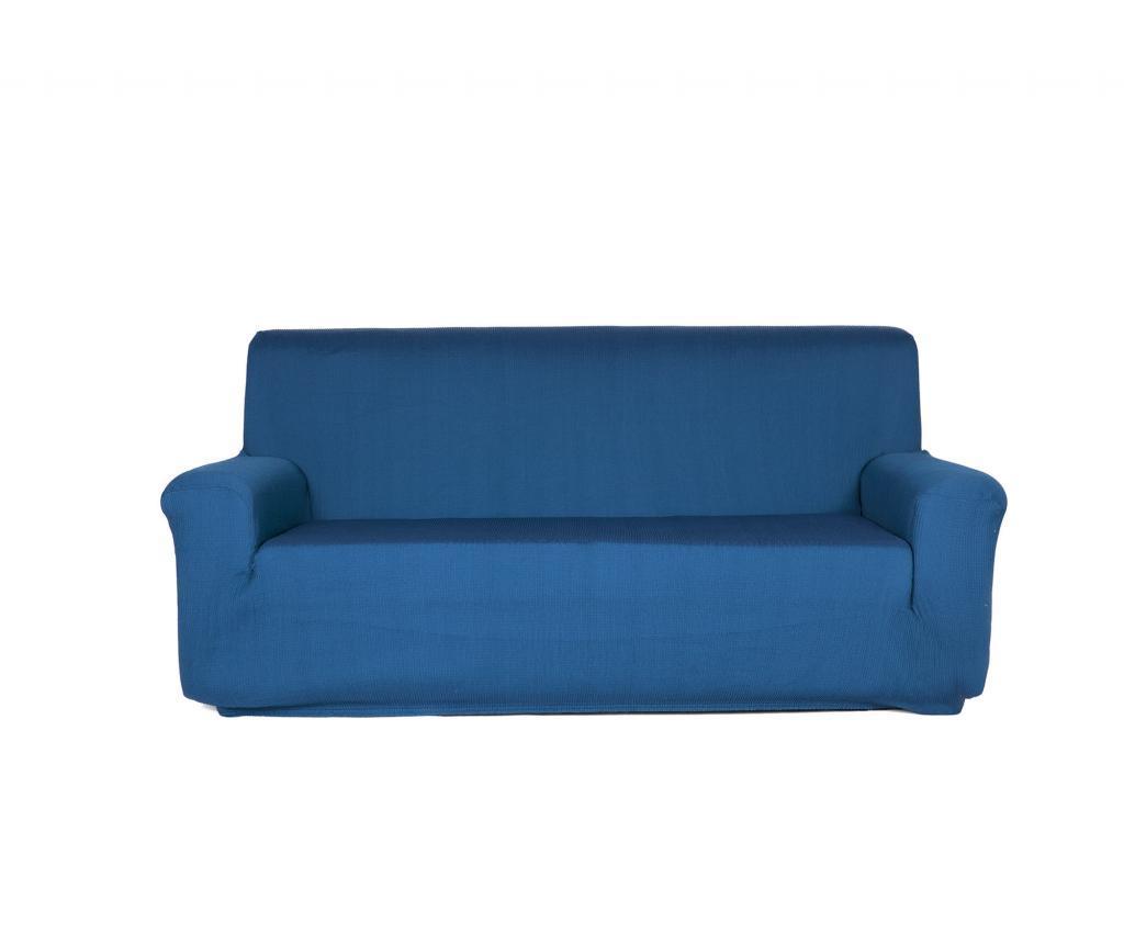 Husa elastica pentru canapea Castellar 70x100 cm - Blindecor, Albastru