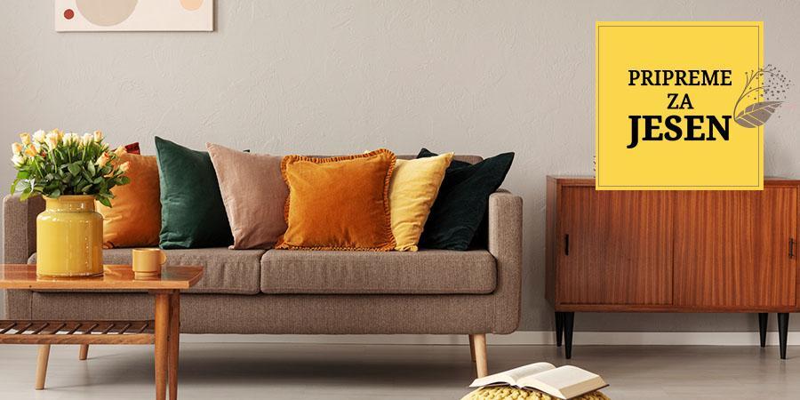 Pripreme za jesen: Rđasti-žuti dekor