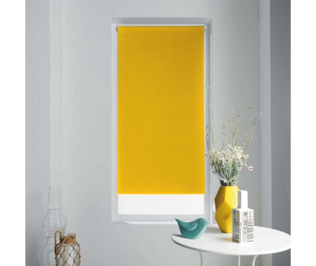 Jaluzea tip rulou Occult Yellow 120x180 cm - store d'intérieur, Galben & Auriu