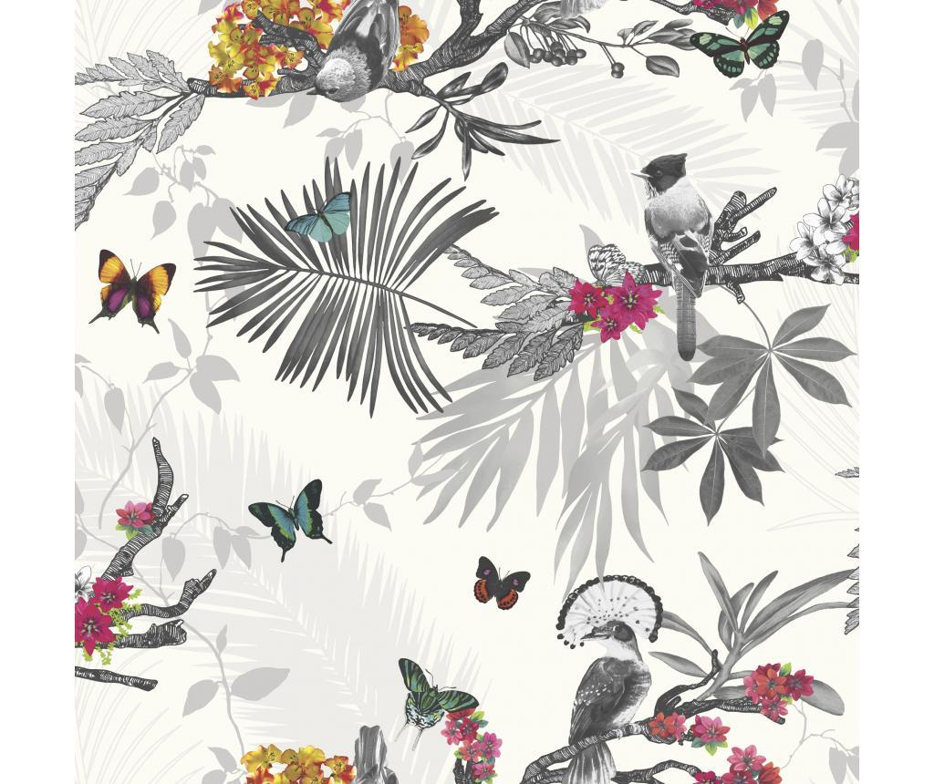 Tapet Mystical Forest White Multi 53x1005 cm - Arthouse