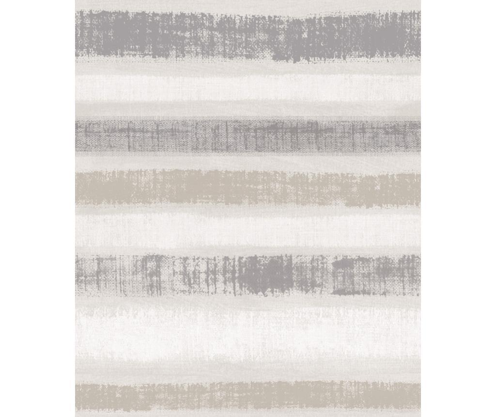 Tapet Painted Stripe Chalk Grey 53x1005 cm - Arthouse