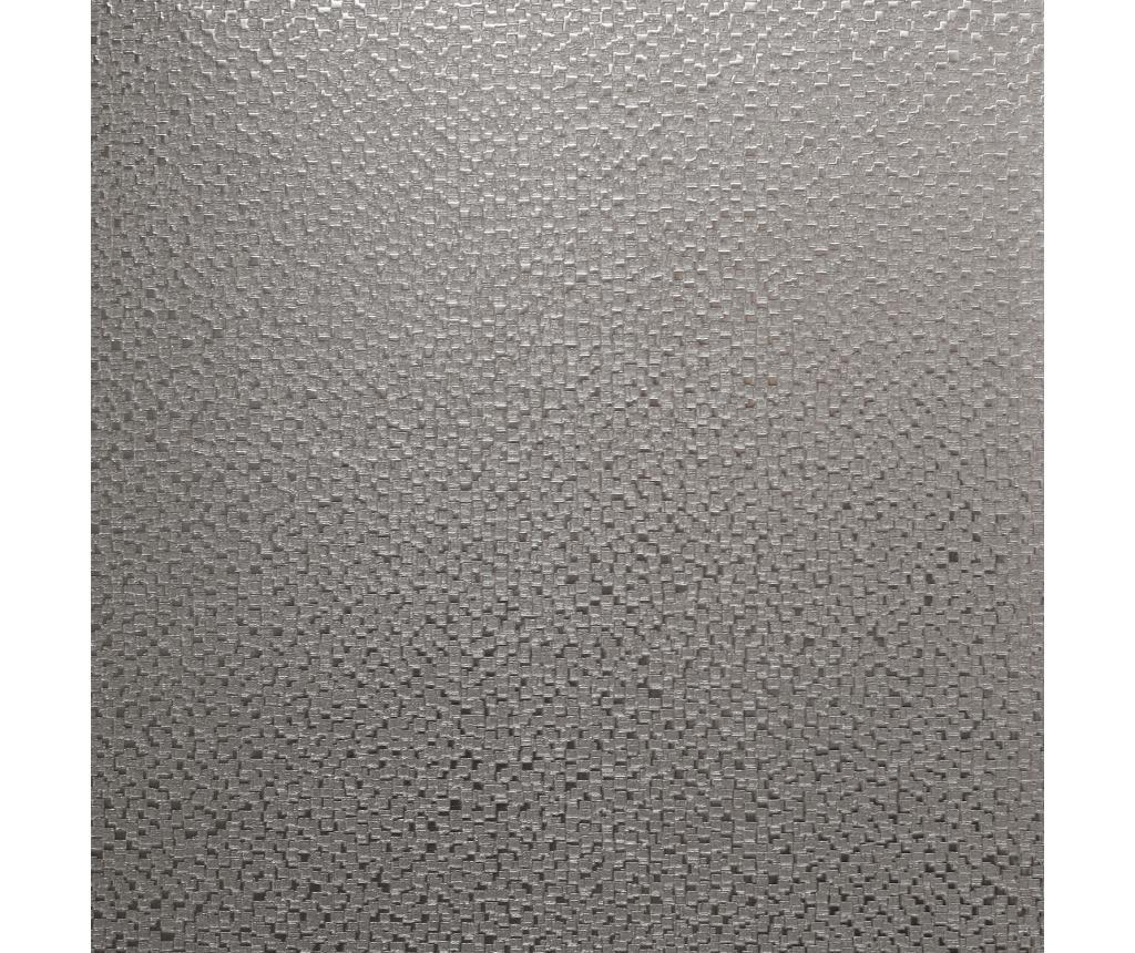 Tapet Mineral Foil Silver 53x1005 cm - Arthouse