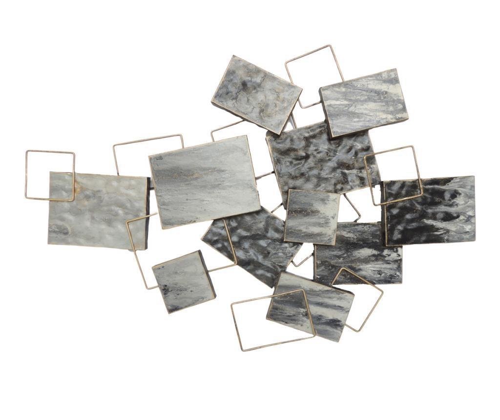 Decoratiune de perete - Socadis, Gri & Argintiu