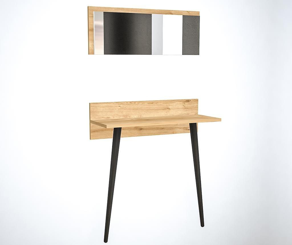 Set konzolni stol i ogledalo