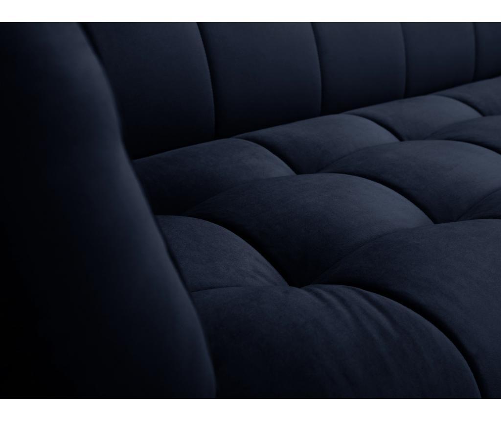 Canapea 2 locuri Lune Navy Blue