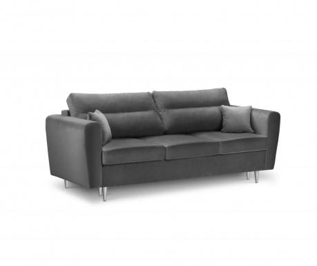 Sofa trosjed Deauville Dark Grey