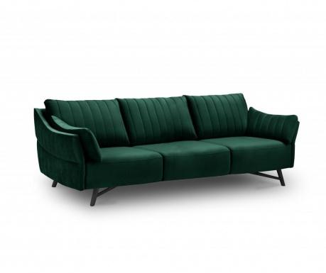 Sofa trosjed Louvres Bottle Green