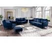Canapea 3 locuri Louvres Royal Blue