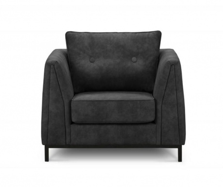 Fotel Cannes Anthracite