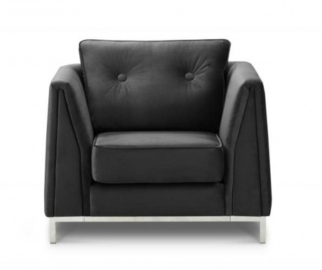 Fotelja Amour Dark Grey