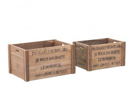 Sada 2 krabic Grasse