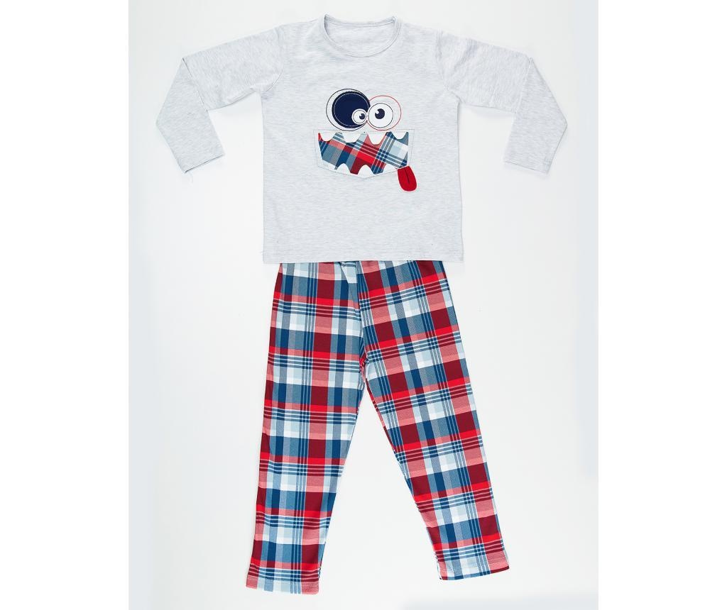 Set bluza si pantaloni pentru copii Funny Face 4 ani
