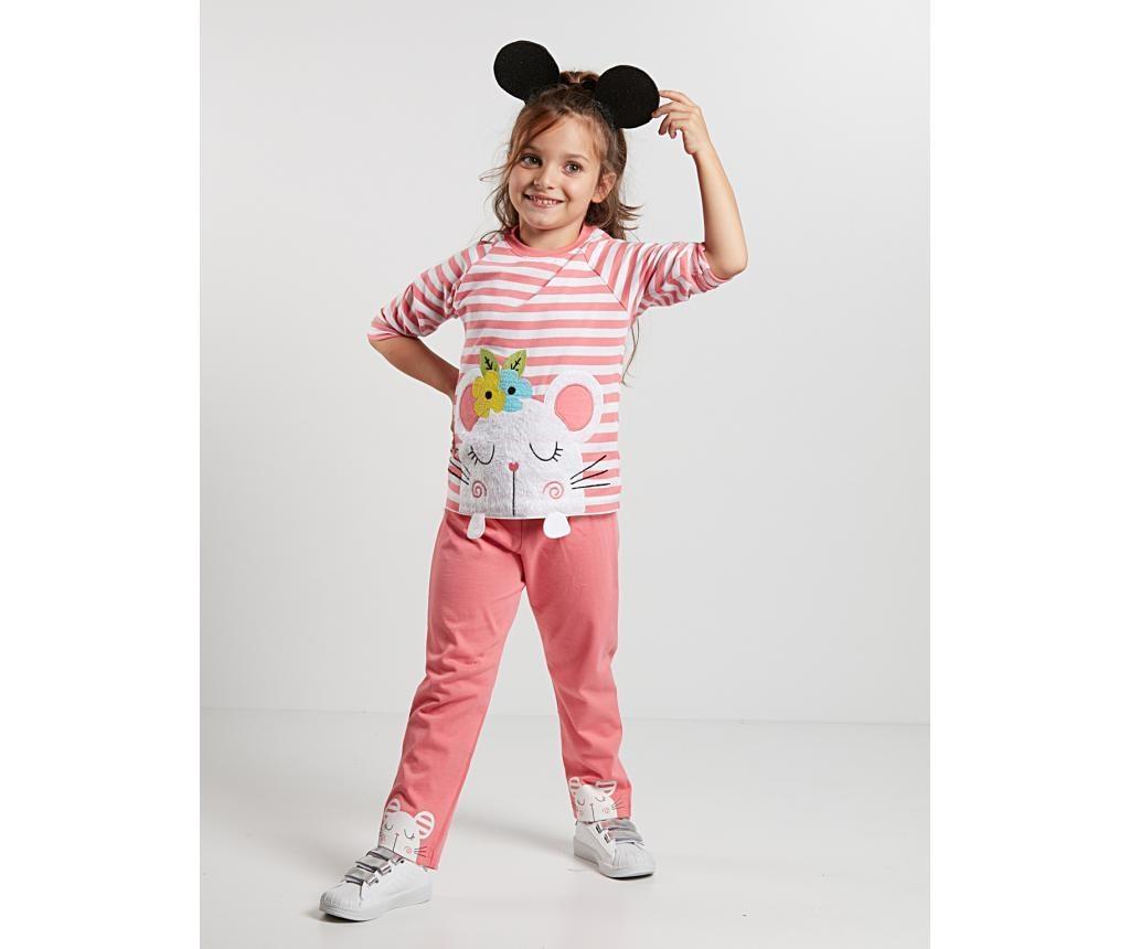 Pijama pentru copii Little Mouse 7 ani