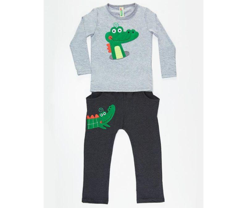 Set bluza si pantaloni pentru copii Alligator 2 ani