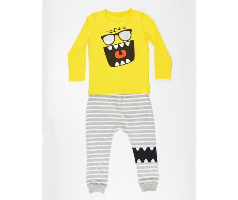 Set bluza si pantaloni pentru copii Mr Glasses 4 ani