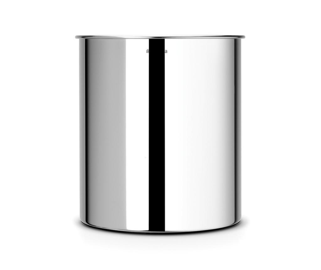 Brabantia Brilliant Steel Papírgyűjtő kosár 7 L