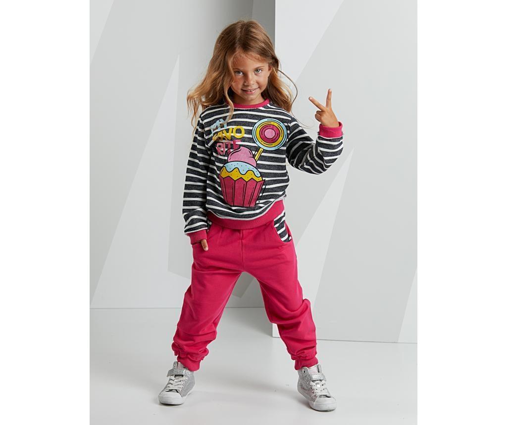 Set dječja bluza i hlače Cupcake 8 god.