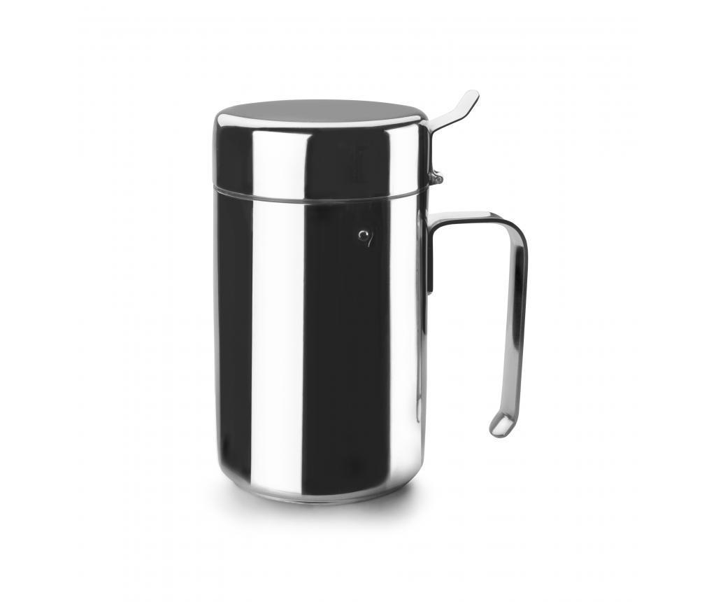 Poza Recipient pentru ulei Anti Drip - Iblli, Gri & Argintiu