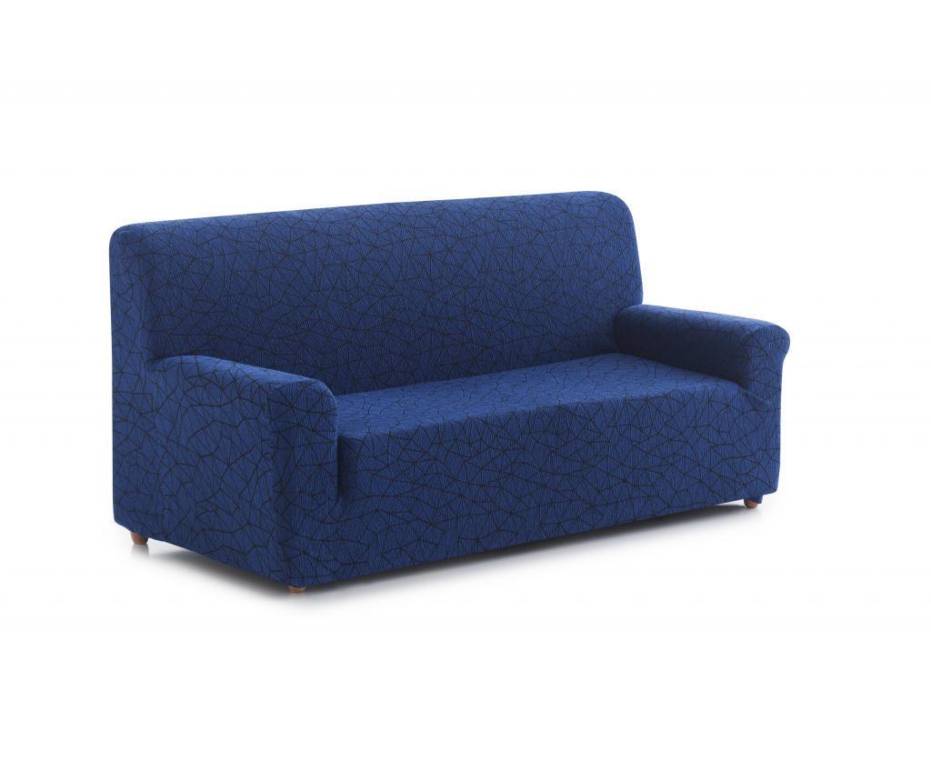Husa elastica pentru canapea Segrelles 70x100 cm - Blindecor, Albastru