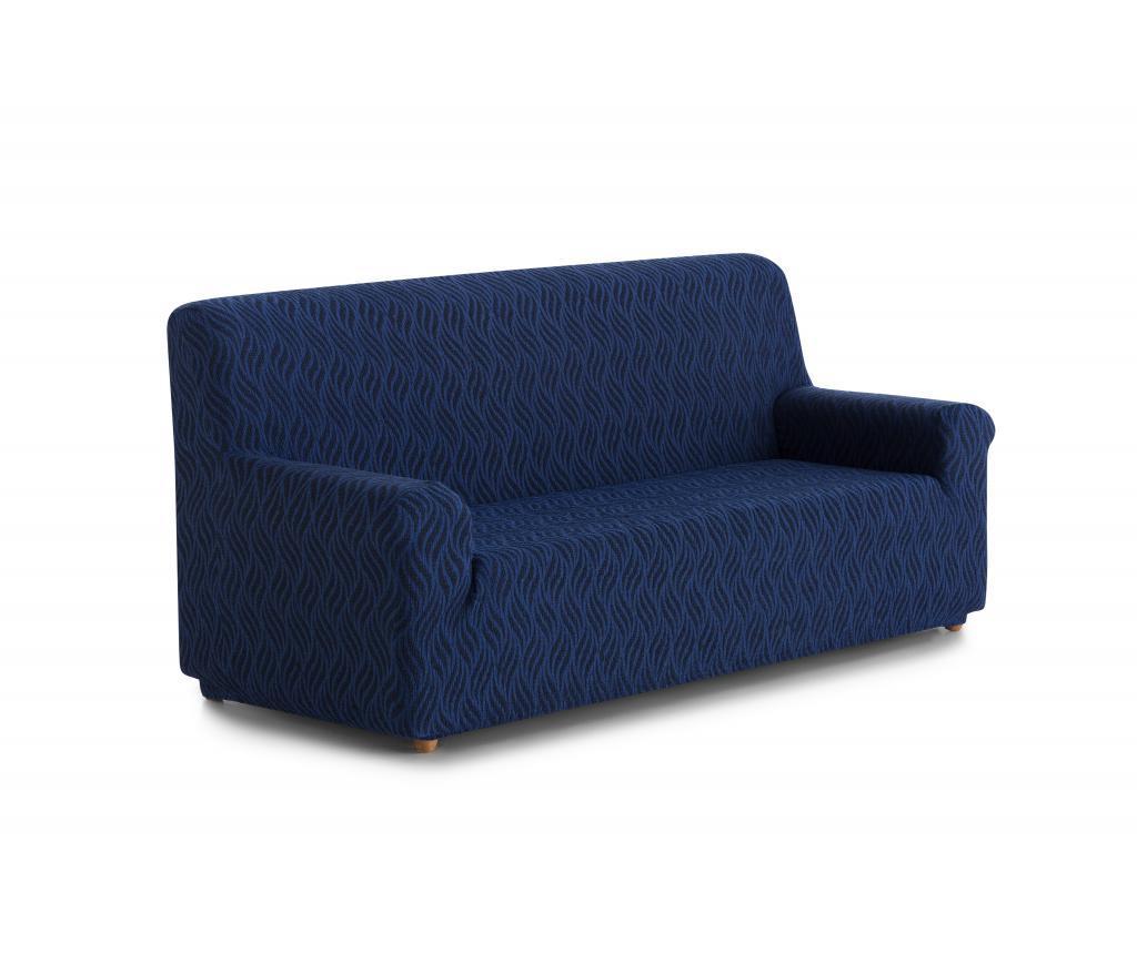 Husa elastica pentru canapea Picaso 170x210 cm - Blindecor, Albastru