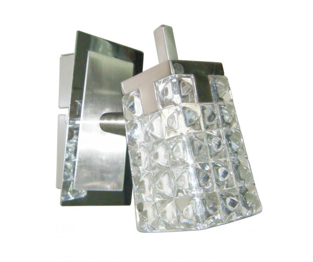 Lampa de perete Loreley Steel-Bright - Näve, Gri & Argintiu
