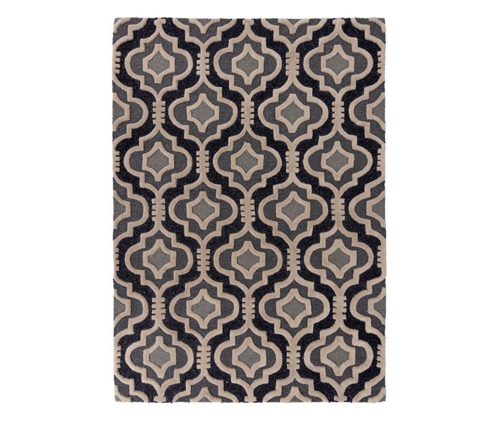 Covor Amira Grey 160x230 cm - Flair Rugs, Gri & Argintiu