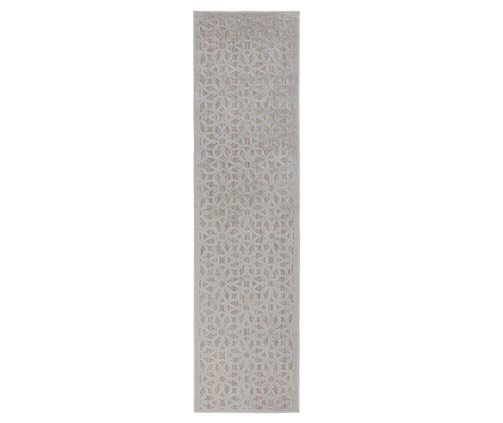 Covor Argento Silver 60x230 cm - Flair Rugs, Gri & Argintiu