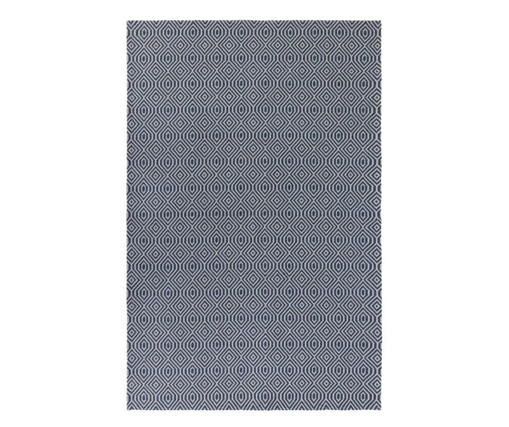 Covor Pappell Blue 192x290 cm - Flair Rugs, Albastru