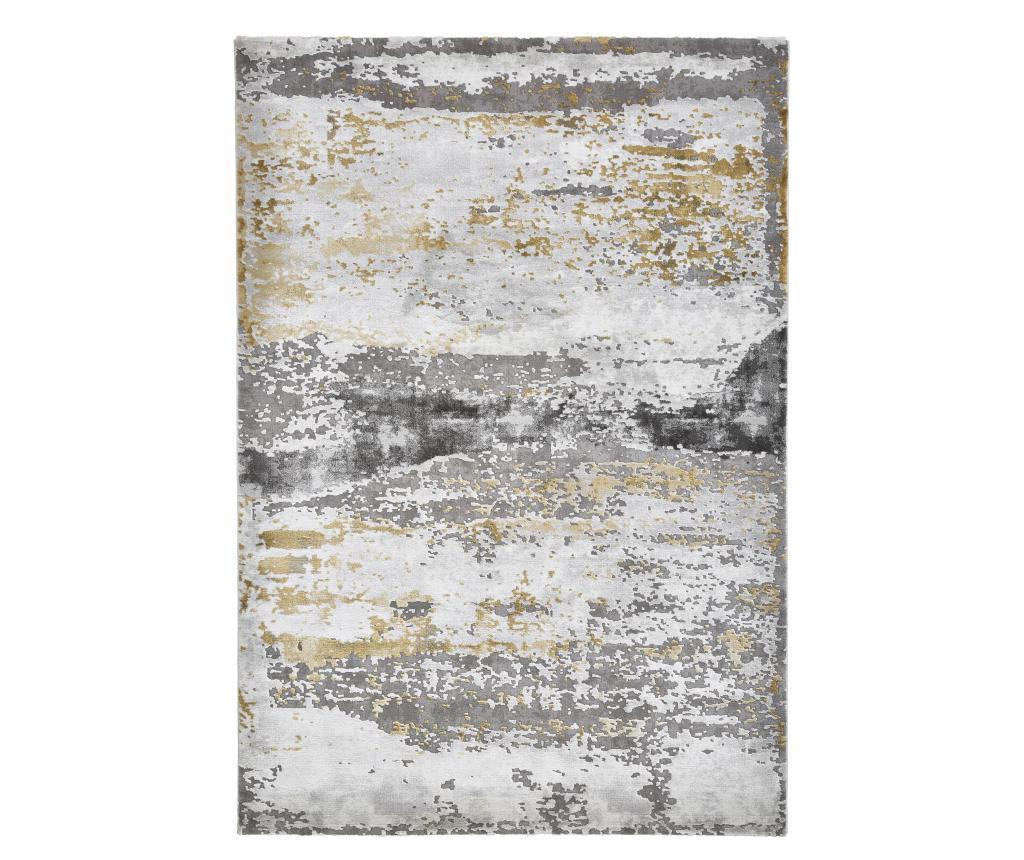 Covor Craft Grey Yellow 120x170 Cm - Think Rugs, Galben & Auriu,gri & Argintiu