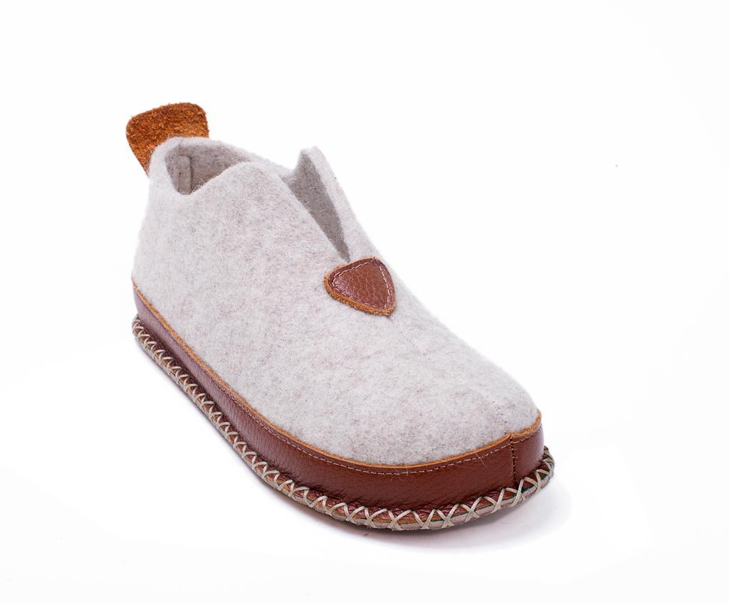 Papuci De Casa Dama Ivy Cream 37