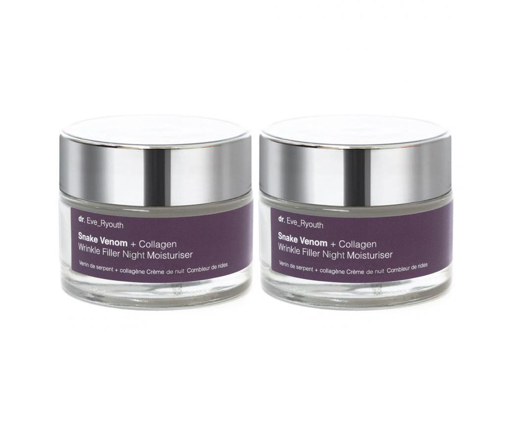 Set 2 Creme Pentru Fata Wrinkle Filler Night 50 Ml - Dr. Eve_ryouth