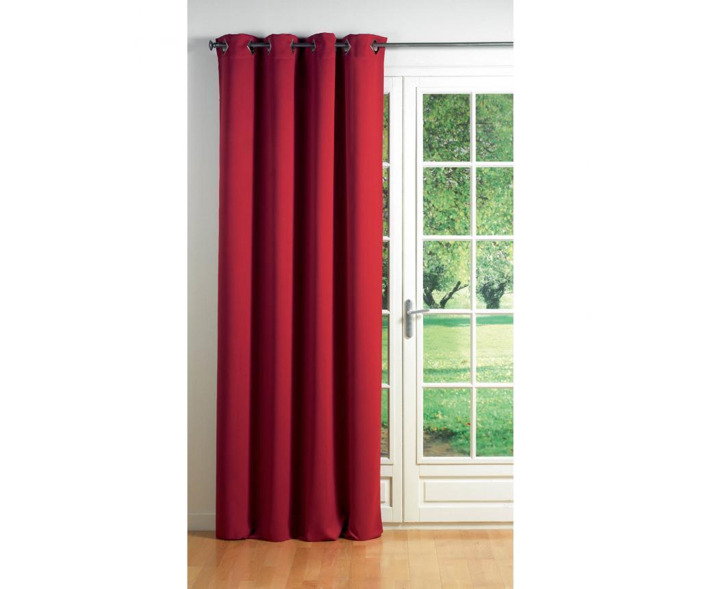 Draperie Cocoon Opaque Red 140x260 cm - douceur d'intérieur, Rosu