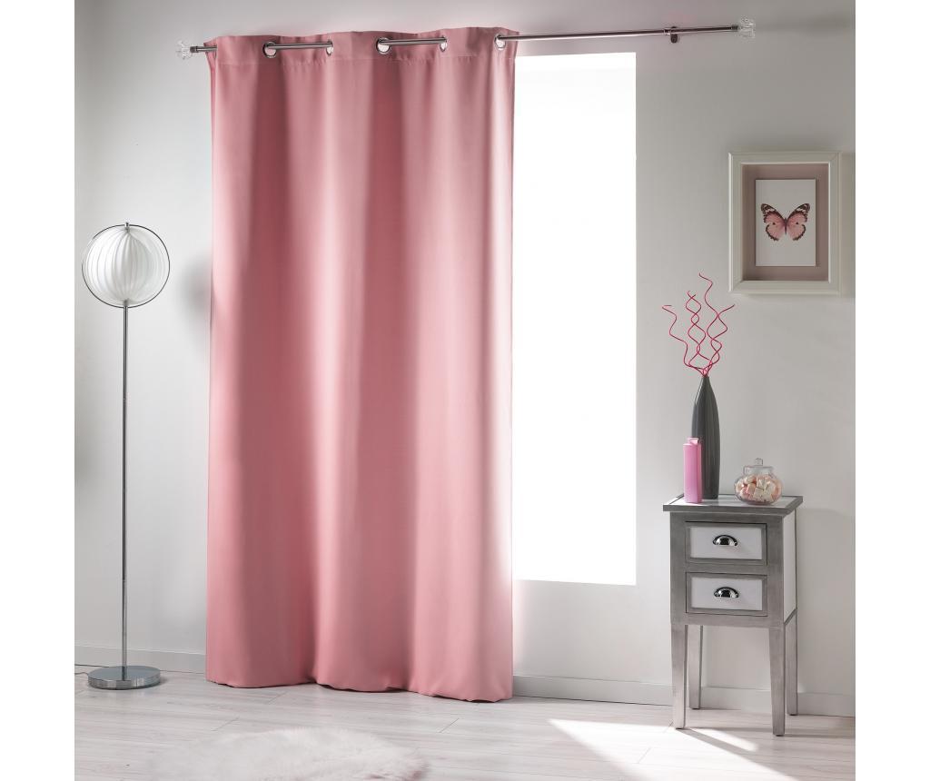 Draperie Mrya Pink 140x240 cm - douceur d'intérieur, Roz