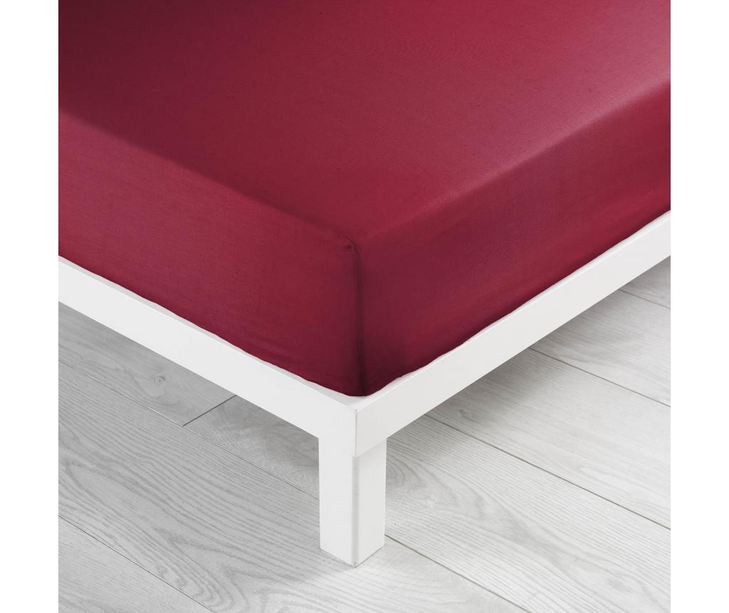 Cearsaf de pat cu elastic 160x200 cm - douceur d'intérieur, Portocaliu