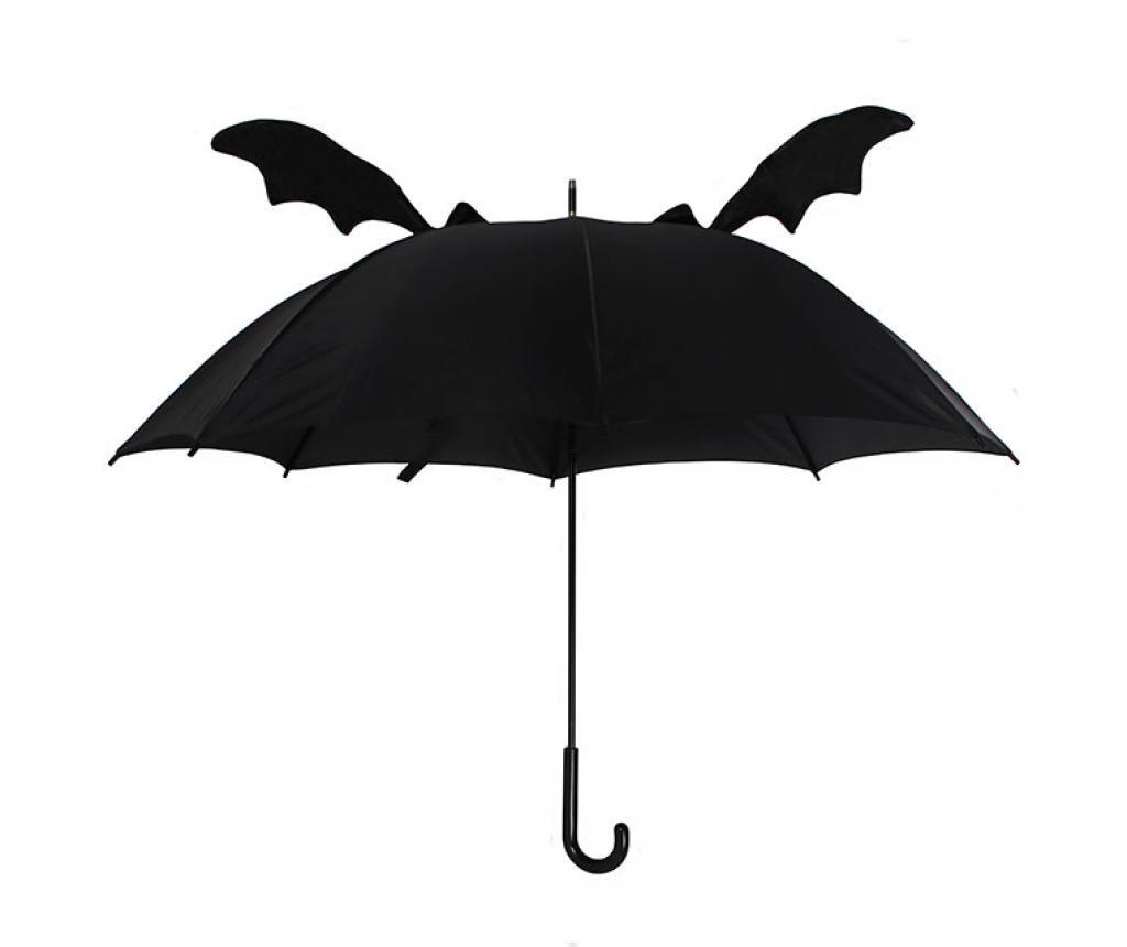 Umbrela 3D Bat - Something Different, Negru