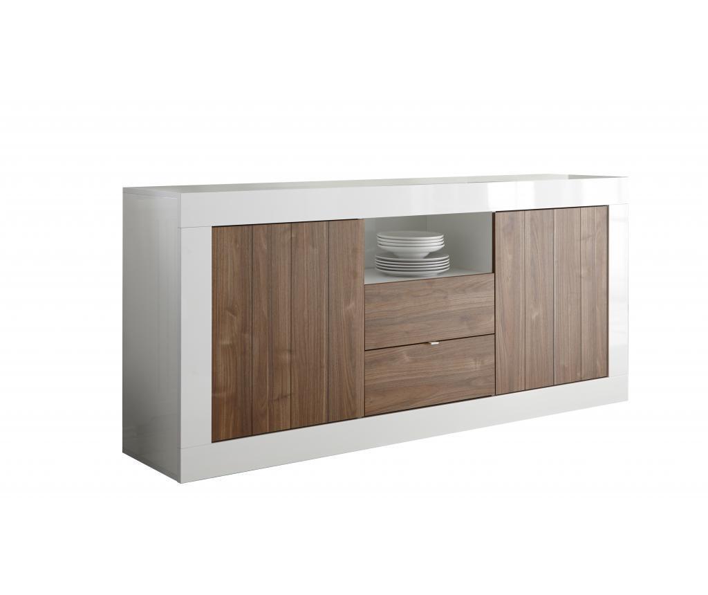 Bufet inferior Lipari Brown - TFT Home Furniture, Maro