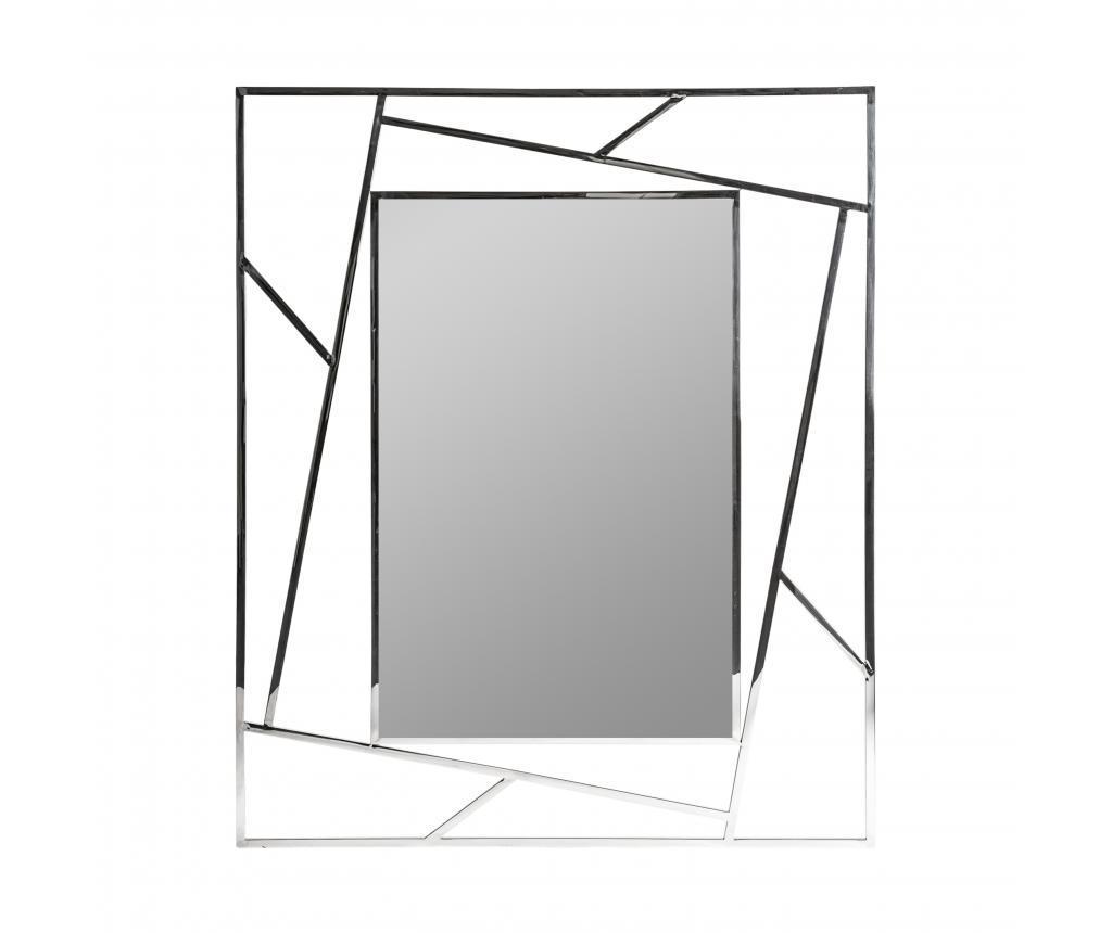Oglinda Manhattan Gri Argintiu