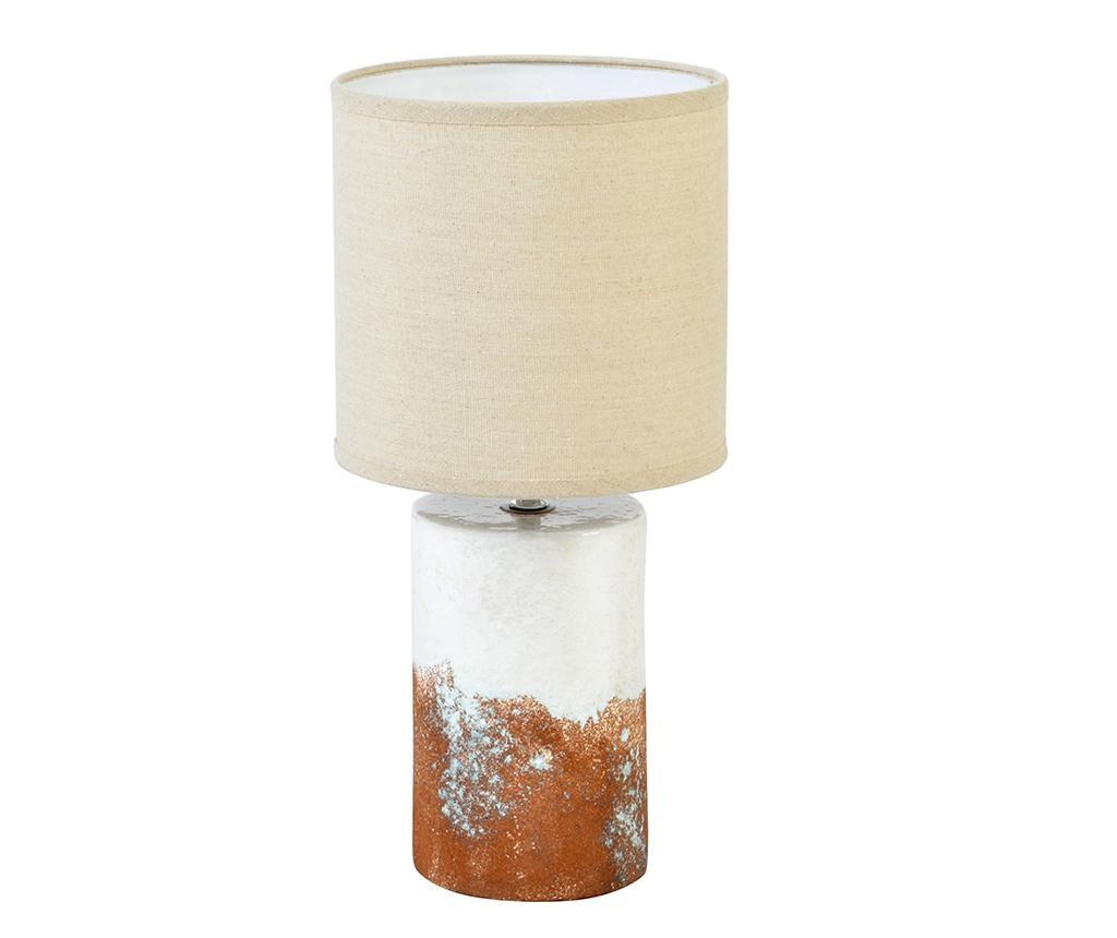 Stolna lampa Stonehenge White